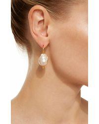 Ranjana Khan - Multicolor Large Single Pearl Earrings - Lyst