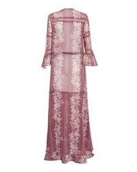 We Are Kindred Pink Heidi Oversized Maxi Dress
