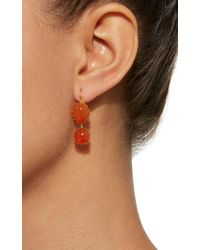 Renee Lewis - Orange Antique Cornelian Earrings - Lyst
