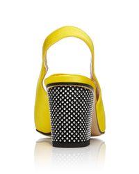 Paul Andrew - Yellow Kapoor Slingback - Lyst