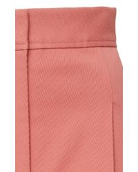 J. Mendel - Pink High Waisted Wide Leg Pant - Lyst
