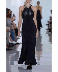 Roberto Cavalli - Black Sleeveless Maxi Dress - Lyst