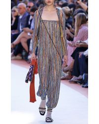 Missoni - Multicolor Strapless Jumpsuit - Lyst