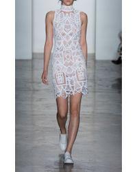 Jonathan Simkhai - White Tower Lace Dress - Lyst