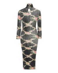 Blumarine - Multicolor 3/4 Sleeve Knit Dress - Lyst