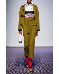 Olympia Le-Tan - Multicolor Ojisan Kanzashi Embroidered Shirt - Lyst
