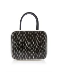 Michino Paris - Black Squarit Pm Shoulder Bag - Lyst