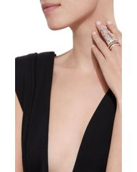 YEPREM - Pink Never After Double Band Ring - Lyst