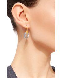 Sanjay Kasliwal - Blue Topaz Hook Earrings - Lyst