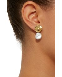 Agmes - Metallic Elsa Small Gold Vermeil Earrings - Lyst