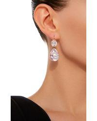 Renee Lewis - Pink 18k White Gold Kunzite Earrings - Lyst