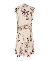 Warm - Multicolor Roque Ruffle Cap Sleeve Dress - Lyst