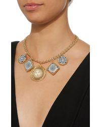 Rosantica - Metallic Ciucciue Gold-tone Brass And Ceramic Necklace - Lyst