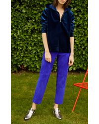 Roseanna - Blue Suede Tine Pant - Lyst