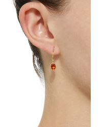 Mallary Marks - Orange Hard Candy 18k Gold Spessartite Garnet Earrings - Lyst