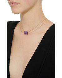Renee Lewis - Purple 18k Gold Amethyst Necklace - Lyst