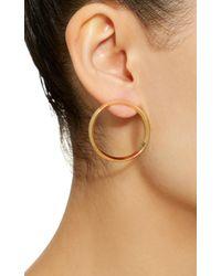 Jack Vartanian - Metallic Yellow Gold Style Hoop Earrings - Lyst