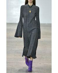 Ellery - Purple Patent Leather Bootie - Lyst