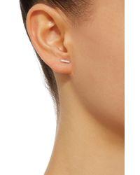 Vanrycke - Metallic Medellin 18k White Gold Diamond Single Earring - Lyst