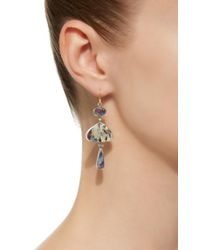 Judy Geib - Multicolor One-of-a-kind Private Collection Opal Earrings With Rainbow Flash - Lyst
