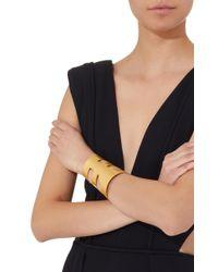 Paula Mendoza - Metallic Wounam Gold-plated Brass Cuff Bracelet - Lyst