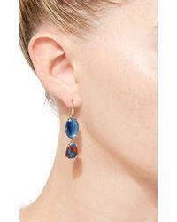 Lauren K - Blue Kyanite & Boulder Opal Joyce Earrings - Lyst