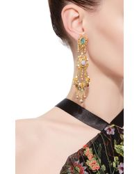 Ben-Amun | Metallic Boho Chic Multi-stone Earrings | Lyst