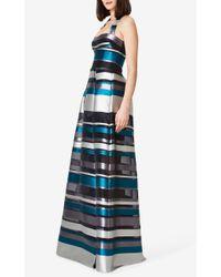 Safiyaa - Blue Lala Long Dress - Lyst