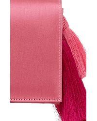 Glorinha Paranagua - Pink Dani Tassel Bag - Lyst