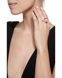 Anabela Chan - Pink Cinderella 18k Gold, Sapphire And Diamond Ring - Lyst