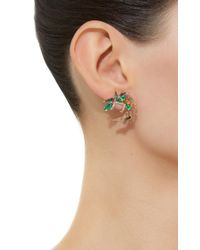 Nak Armstrong - Green Spray Earrings - Lyst