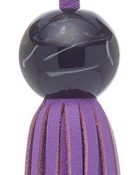 Tara Zadeh - Purple Fringe Tassel - Lyst
