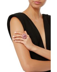 Wendy Yue   Pink Sapphire Flower Ring   Lyst