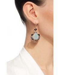 Nak Armstrong | Blue Aquamarine Drop Earrings | Lyst