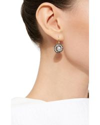 Venyx | White Elementa Pearl Earrings | Lyst