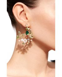Anabela Chan - Green M'o Exclusive: Butterfly Garland Earrings - Lyst