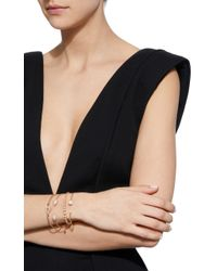 Jemma Wynne - Metallic Pearl Open Bangle - Lyst
