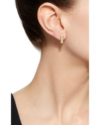 Jemma Wynne | Metallic Bar Diamonds Studs | Lyst