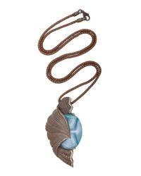 Luz Camino | Blue Fern Pendant | Lyst