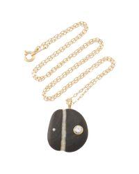 CVC Stones | Black Anais Necklace | Lyst