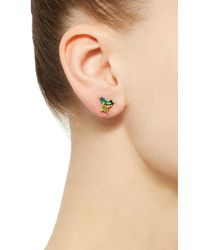 Holly Dyment   Green Cluster Single Earring   Lyst
