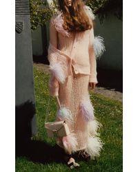 Christopher Kane - Pink Pom Pom Dress - Lyst