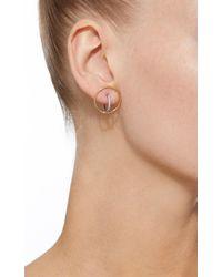 Charlotte Chesnais - White Saturn S Single Earring - Lyst