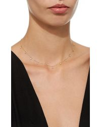 Zoe Chicco - Metallic Eleven Dangling Diamond Choker - Lyst
