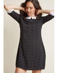 Sugarhill | Black Bliss Upon A Star Shift Dress | Lyst