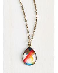 Beijo Brasil   Metallic Refract Or Fiction Necklace   Lyst