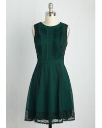 Doe & Rae | Green Wants Upon A Time A-line Dress | Lyst