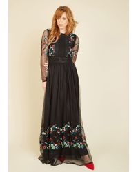 Frock and Frill | Black Adore Your Aura Maxi Dress | Lyst