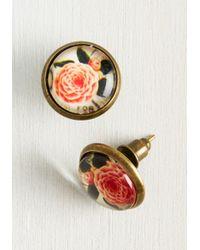 Beijo Brasil   Multicolor Flourishing Adornment Earrings   Lyst