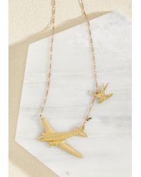 Erica Weiner | Metallic Flight Club Necklace | Lyst